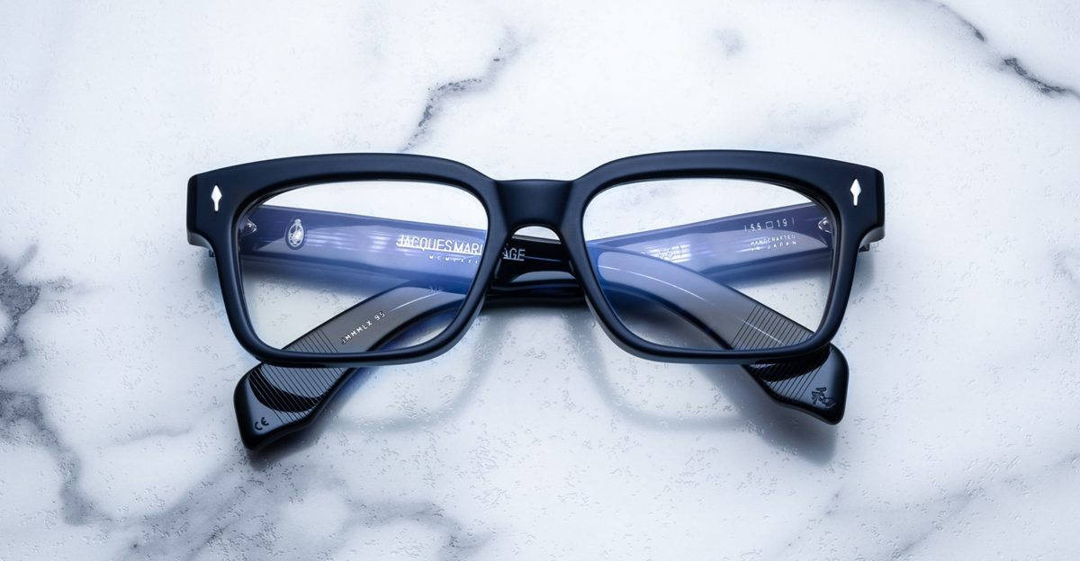 Jacques Marie Mage Molino 55 style eyeglasses in USS colorway