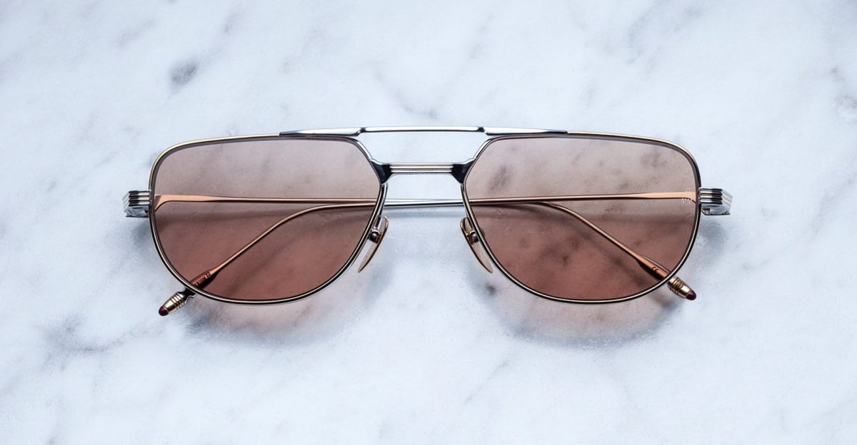Jacques Marie Mage Roy style sunglasses in colorway Solar