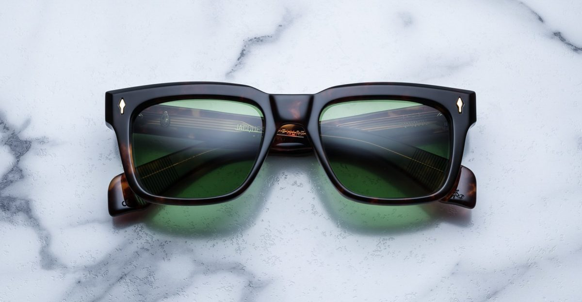 Jacques Marie Mage Torino style sunglasses in tortoise