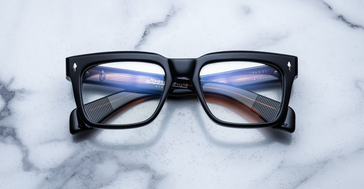 Jacques Marie Mage Torino style eyeglasses in black