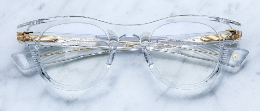 Jacques Marie Mage Tristan in Clear JMMTRRX-63