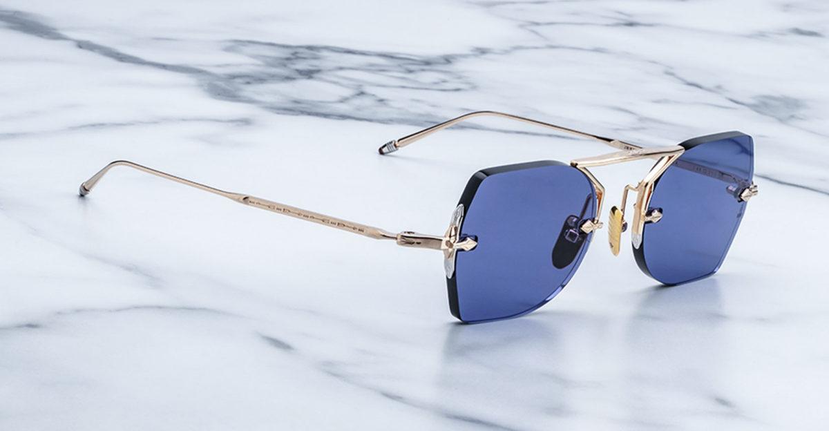 Jacques Marie Mage Yuma rimless sunglasses