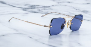 Jacques Marie Mage Yuma rimless sunglasses