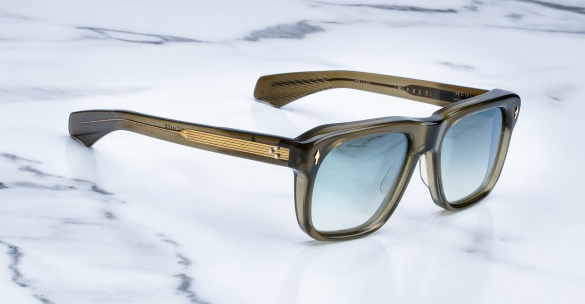 Jacques Marie Mage Yves sunglasses in Army colorway