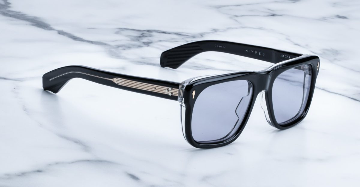Jacques Marie Mage Yves style sunglasses in Maverick colorway