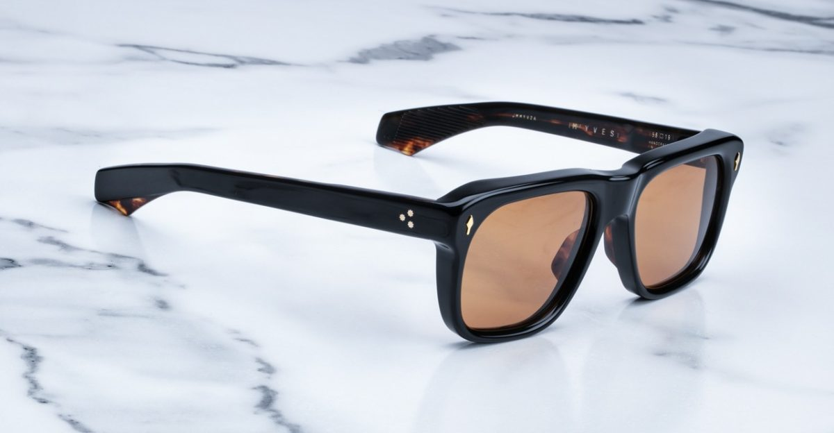 Jacques Marie Mage Yves style sunglasses in colorway Noir 3