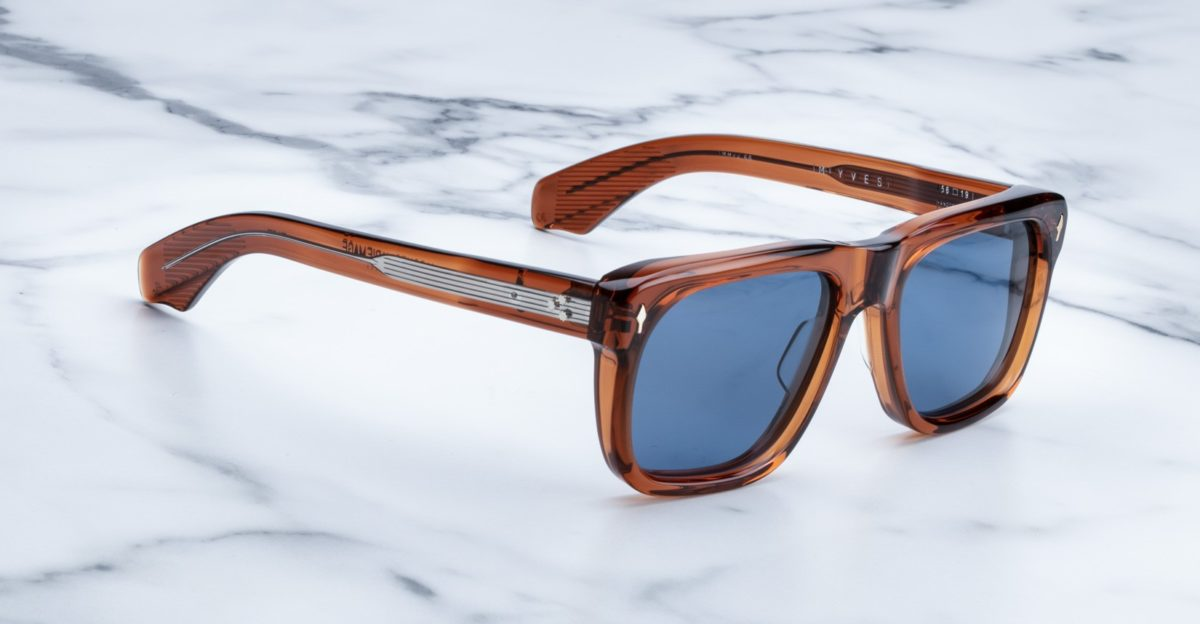 Jacques Marie Mage Yves style sunglasses available at Dan Deutsch