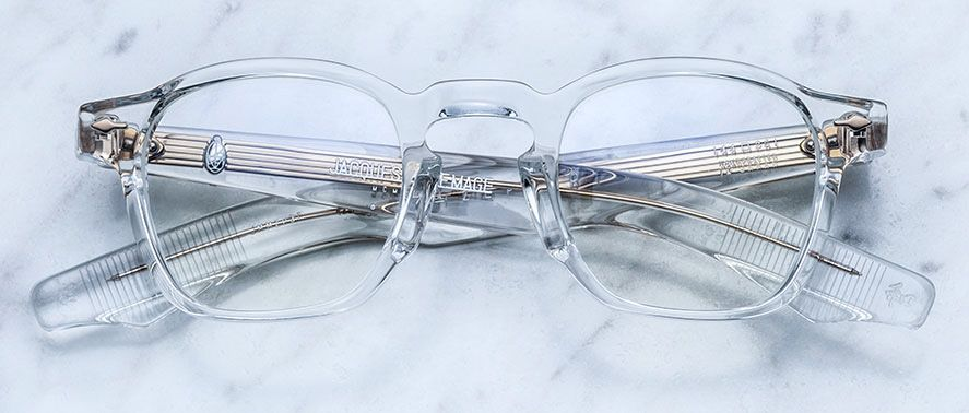 Jacques Marie Mage Zephirin optical style eyewear in clear