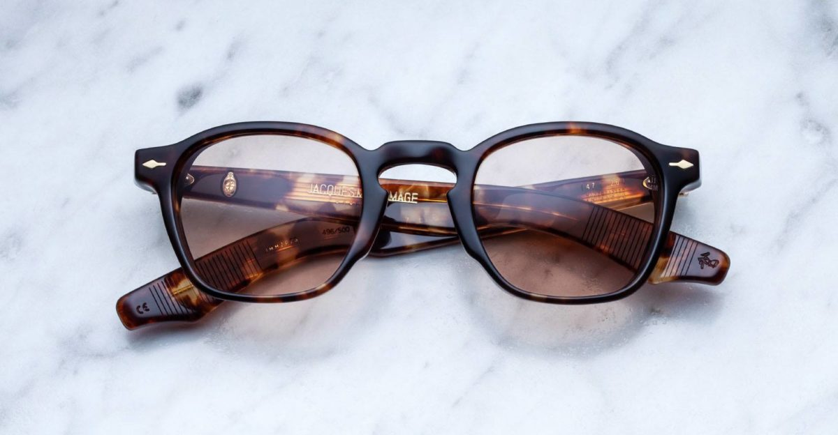 Jacques Marie Mage Zepherin style sunglasses in tortoise