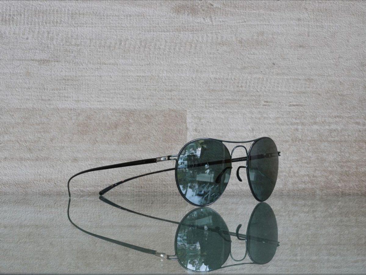 Mykita Maison Margiela Sunglasses MMESSE005 e8 dark green grey dandeutsch