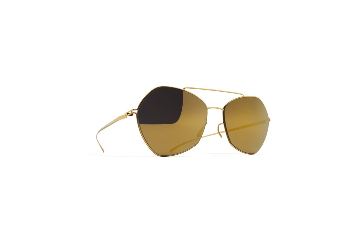 Mykita Maison Margiela Sunglasses mmesse012 e2 gold gold flash