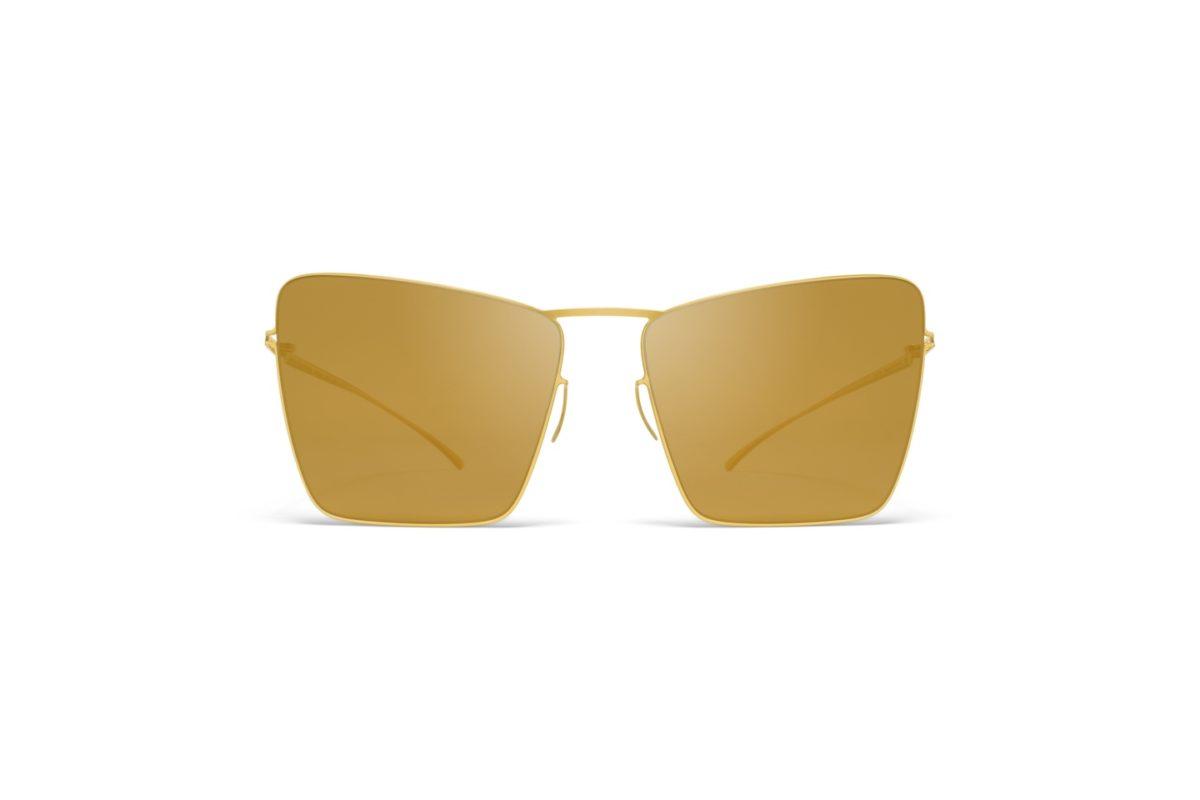 Mykita Maison Margiela Sunglasses mmesse014 e2 gold gold flash
