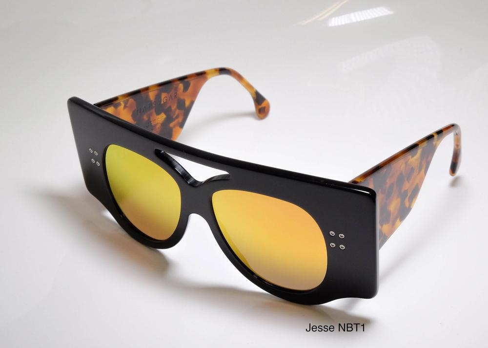 Napsvgar Jesse in Black Tortoise (NBT1) with Grey Amber Mirror lenses