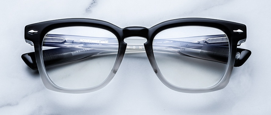 Jacques Marie Mage Arshile eyeglasses in colorway Black Fade