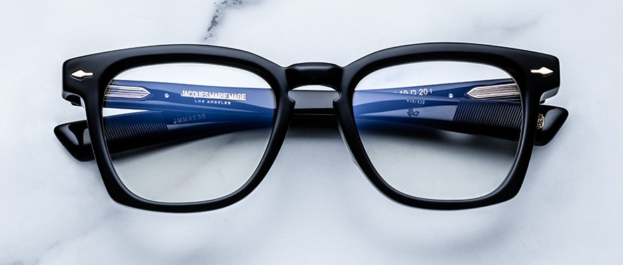 Jacques Marie Mage Arshile eyeglasses in colorway Midnight