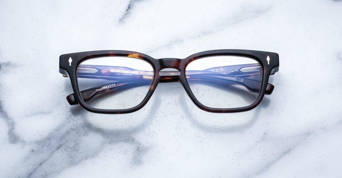 Jacques Marie Mage Artaud eyeglasses in colorway Havana