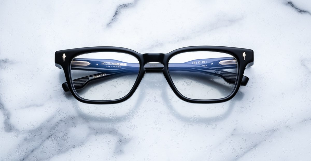 Jacques Marie Mage Artaud eyeglasses in colorway Midnight