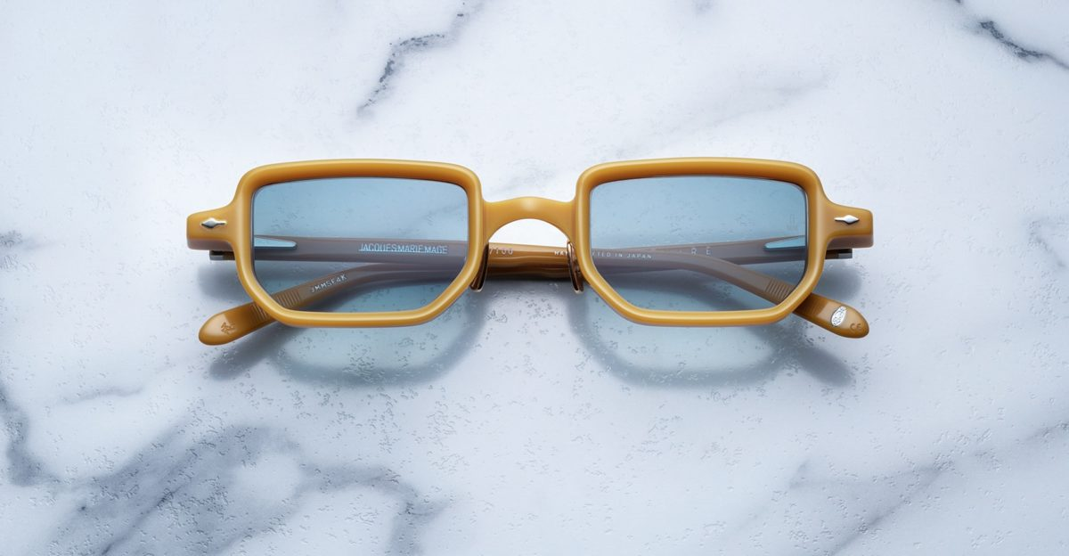 Jacques Marie Mage The Astaire sunglasses in Mustard