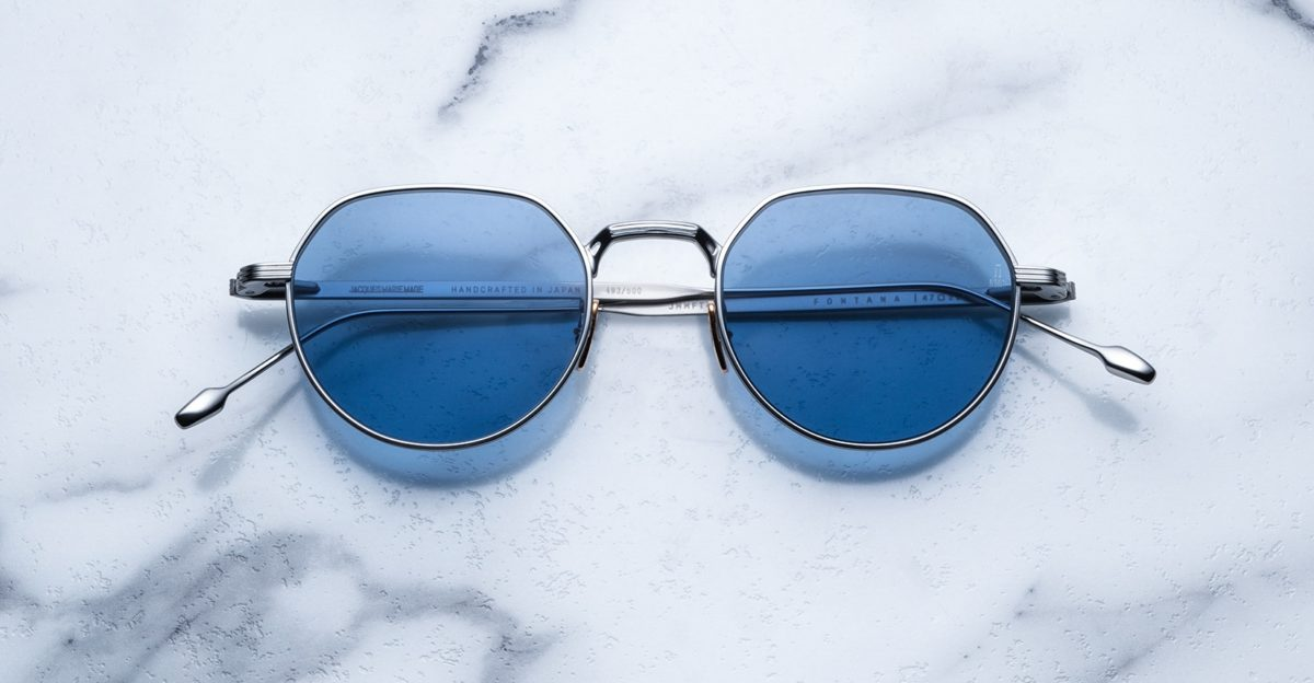 Jacques Marie Mage Fontana style sunglasses in silver