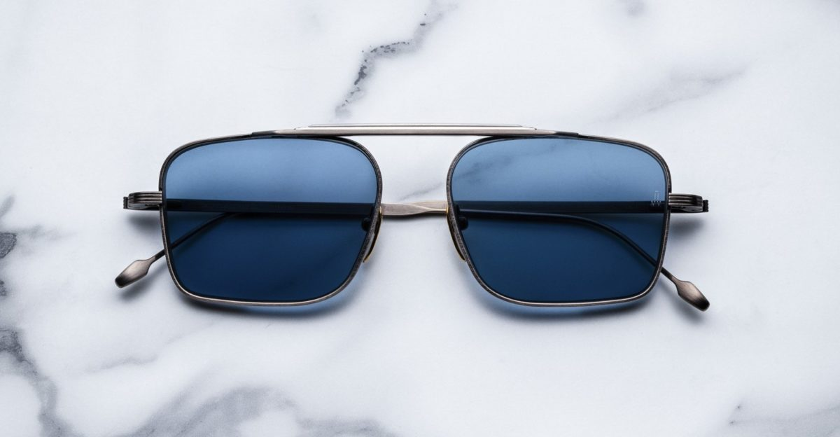 Jacques Marie Mage Scarpa Sunglasses in colorway Antique