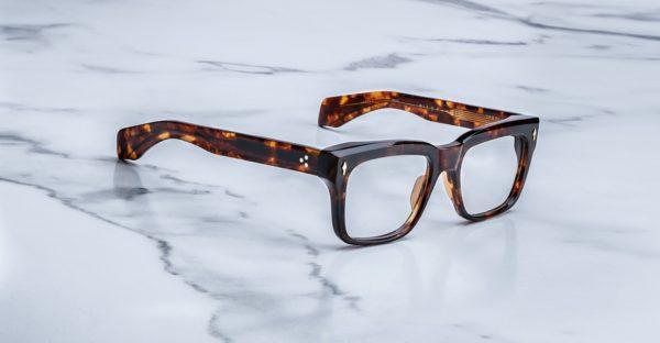 Jacques Marie Mage Torino style eyeglasses in colorway Havana 4