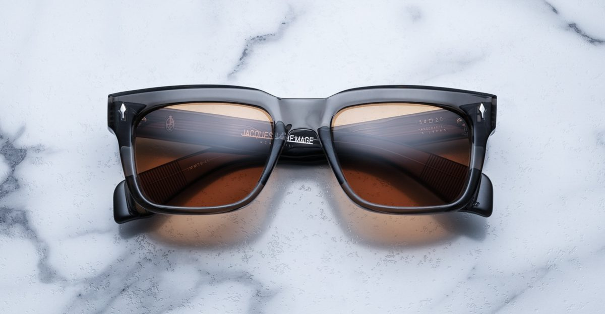 Jacques Marie Mage Torino sunglasses in colorway Tempest