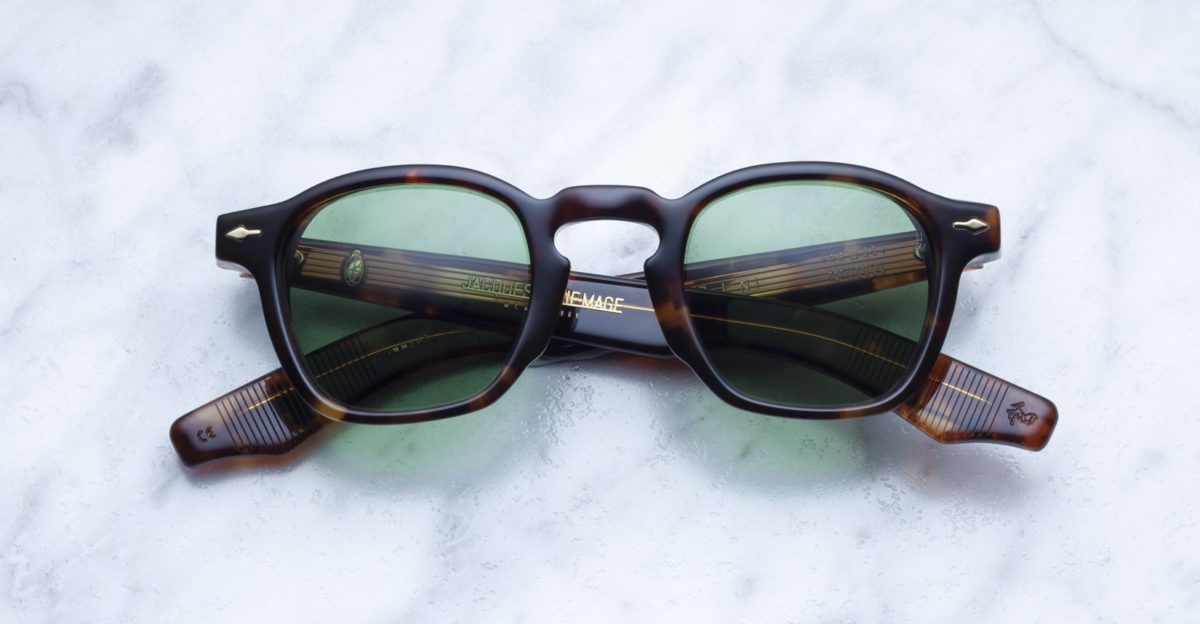 Jacques Marie Mage Zephirin style sunglasses in colorway Havana 4