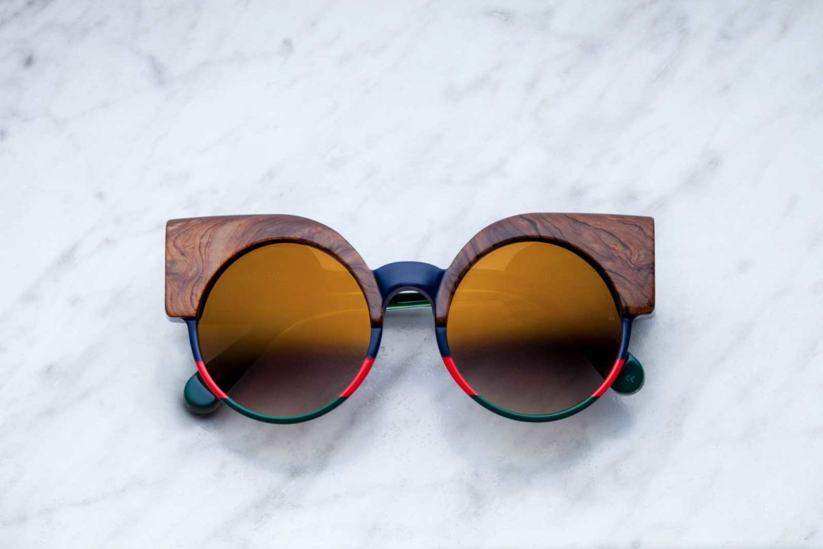 Jacques Marie Mage Thelma style sunglasses in colorway ALDO