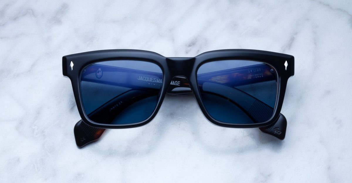 Jacques Marie Mage Torino sunglasses in black