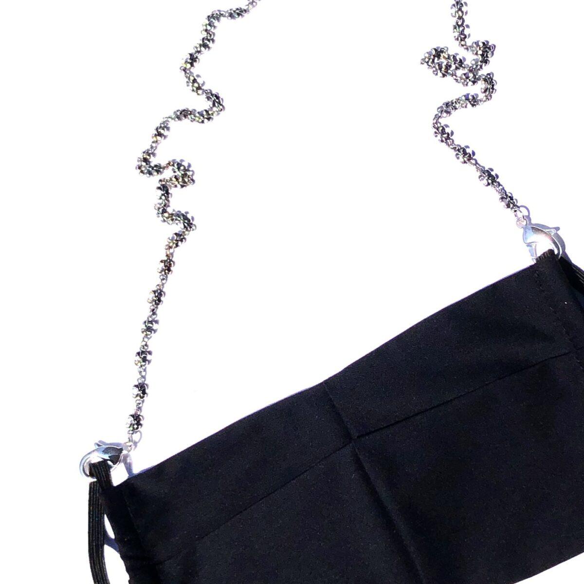 Fleur de Lys Necklace Chain for Facemasks
