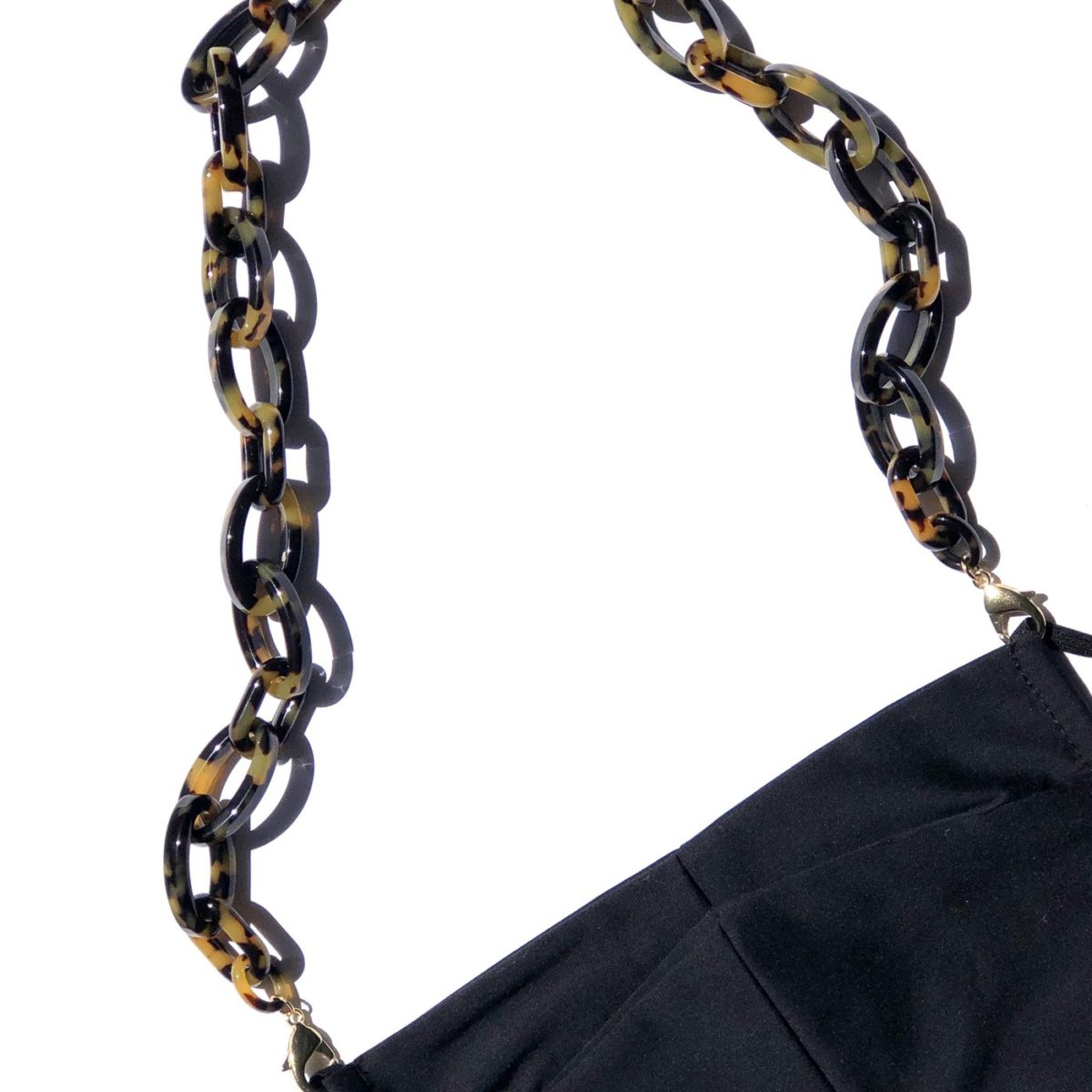 La Mask by Laloop Tortoise Fontana Link Necklace Chain for Facemasks