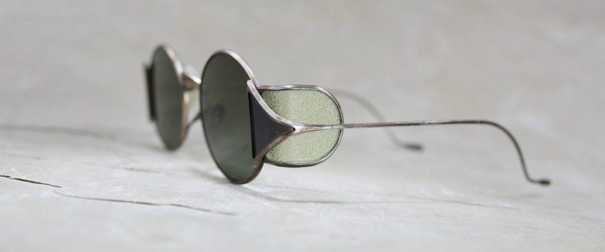 Rigards x Uma Wang RG0UW10 Vintage Black with Green Side Shields